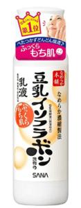 豆乳イソフラボンの乳液